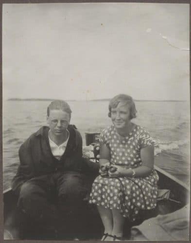 Auramot veneessä